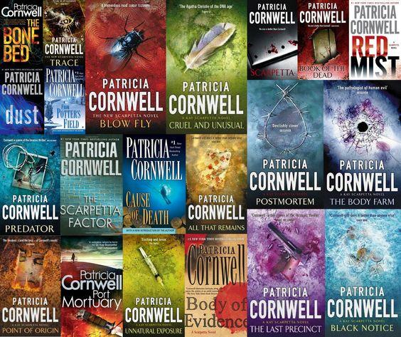 Libros de Patricia Cornwell (selección)